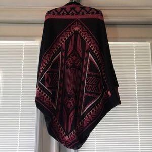 Francesca's tribal poncho